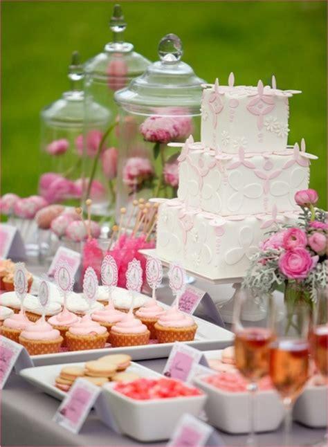 Bridal Shower Desserts by