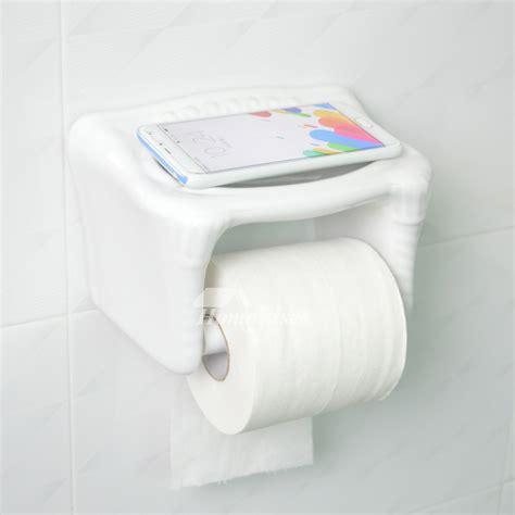 toilet paper holder with shelf ceramic toilet paper holder wall mount with shelf