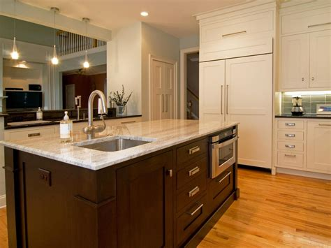 shaker kitchen island photos hgtv