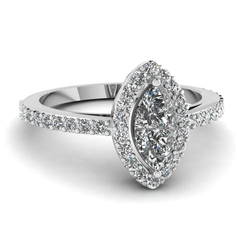 marquise halo ring fascinating diamonds