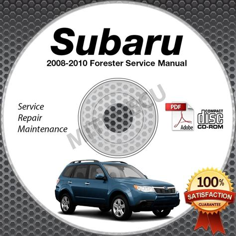 free service manuals online 2005 subaru forester windshield wipe control 2008 2010 subaru forester service manual cd rom 2 5l 2009 2010 repair workshop