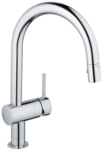 grohe kitchen faucets grohe for your kitchen grohe grohe minta single lever sink mixer 1 2 quot 31378 000