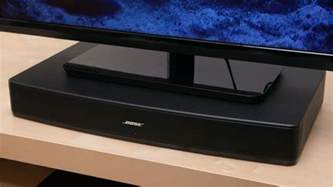 Pedestal Sound Bar Reviews Bose Solo Review Cnet
