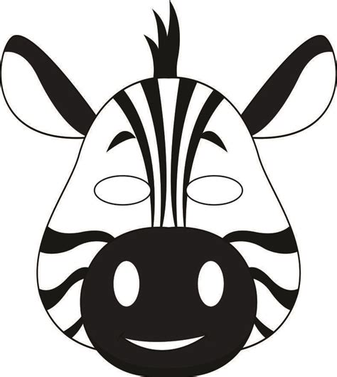 jungle animal mask templates jungle masks thang quot zebra print quot