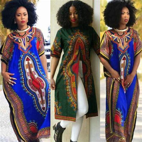 africa ladies print wares fashion women s african print dashiki dress cultural