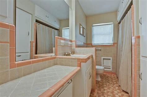 grey and peach bathroom tuesday two hundred the perfect starter home for lakewood