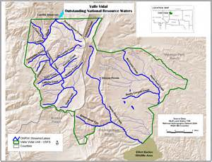 New Mexico Unit Map by Onrw Outstanding National Resource Waters In New Mexico