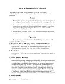 Managed Service Provider Contract Template by Social Networking Services Contract Specialty Project