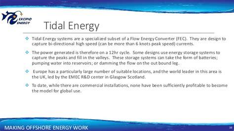 Mba Renewable Energy Uk by Excipio Energy Offshore Renewables 2016