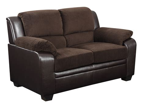 corduroy loveseat global furniture u880018kd loveseat in corduroy brown
