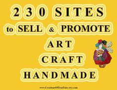 Best Place To Sell Handmade Crafts - 10 best places to sell handmade crafts craft business
