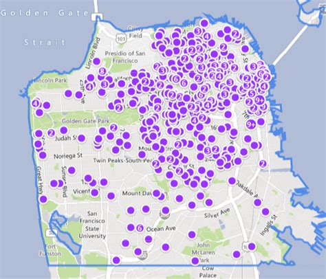 san francisco rental map what the heck is going on with rents wolf