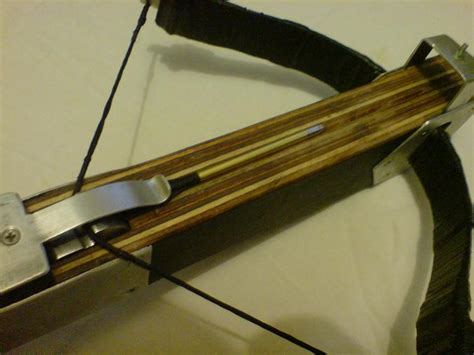 Handmade Crossbow - weaponcollector s knuckle duster and weapon