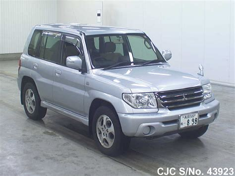 mitsubishi car 2004 2004 mitsubishi pajero io silver for sale stock no