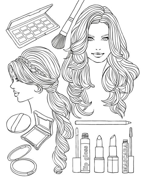 474 Best Images About Coloring Fashion On Pinterest Coloring Pages Recolor