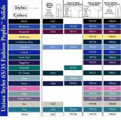 scrub colors unisex scrubs color chart