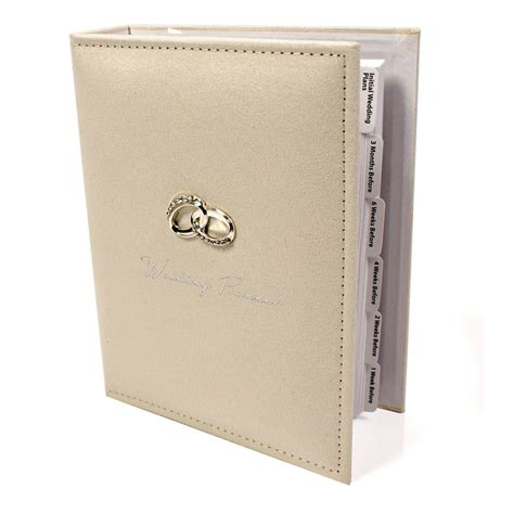 Wedding Planner Gifts by Wedding Planner Diary Book New Organiser Gift Wg293