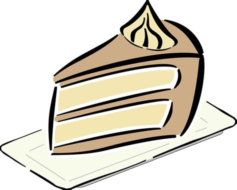 kuchen zeichnung kostenlose vektorgrafik kuchen geburtstag angebot