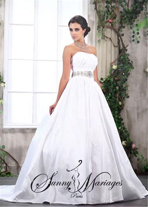 Robe de mariage sur mesure princesse blanche