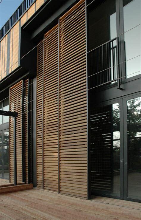 Wooden Sliding Doors Exterior Sliding Exterior Louver System Villa Artes Architectural Details Pinterest Sliding Doors