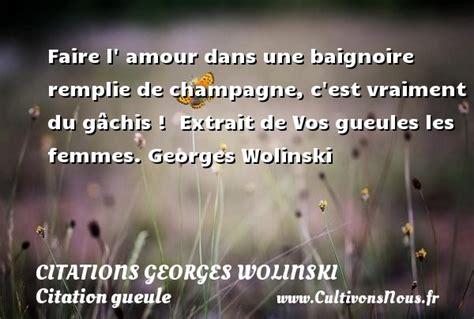 L Amour Dans La Baignoire by Citation Gueule Cultivons Nous