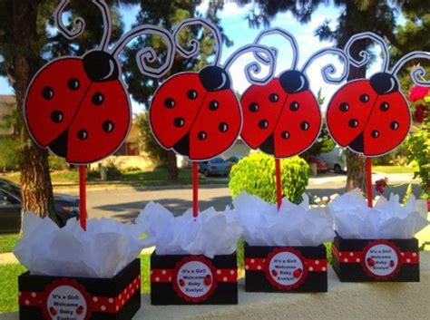 Ladybug Baby Shower Centerpieces by Ladybug Baby Shower Centerpiece Ideas Chuck 1st Bday