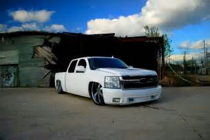 dropped chevy truck bad trucks