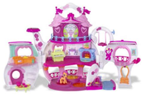 my little pony doll house games amazon com my little pony ponyville teapot palace playset toys games