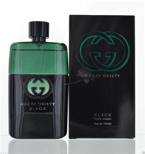 gucci guilty black cologne for edt 3 0 oz brand new in box ebay