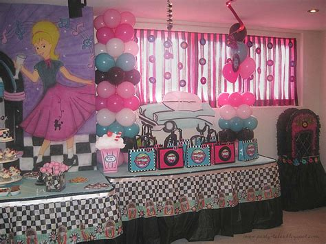 50s decor home sock hop 50 s theme diner birthday ideas photo 1 of 21 catch my