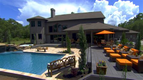 Backyard Pools Tv Show Family Sees Their Colorado Pool For The Time