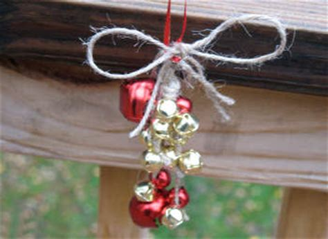 crafts with bells jute jingle bell decoration family crafts