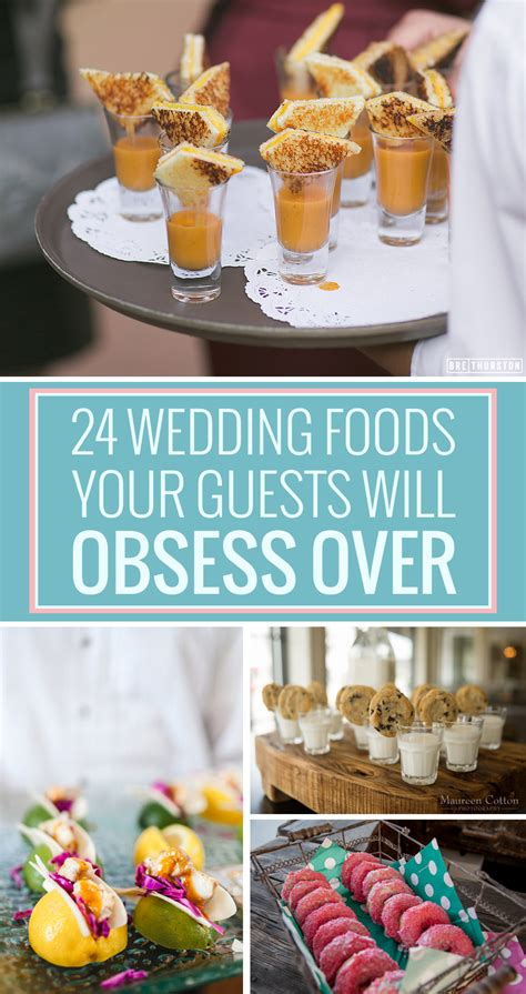 Wedding Anniversary Food Ideas by 24 Unconventional Wedding Foods Your Guests Will Obsess