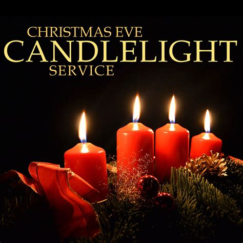 Christmas Candle Light Service Christmas Lights Card And Candle Light Service