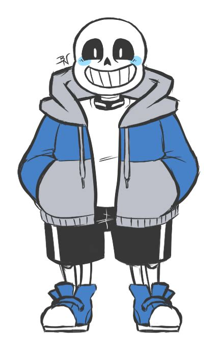 rakkidraws smol drawing sans from the front all sans all the time undertale pinterest