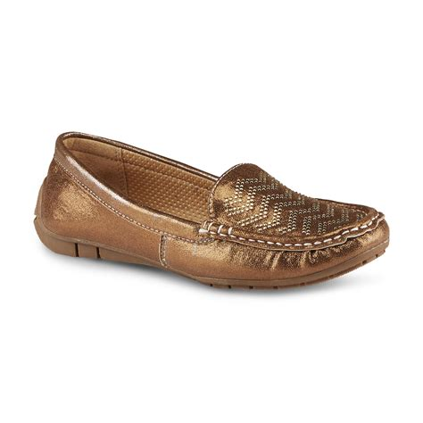bongo shoes bongo s calianna bronze moccasin shoes s