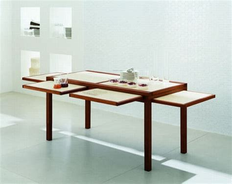 Space Saving Dining Room Table | space saving design collapsible coffee dinner tables