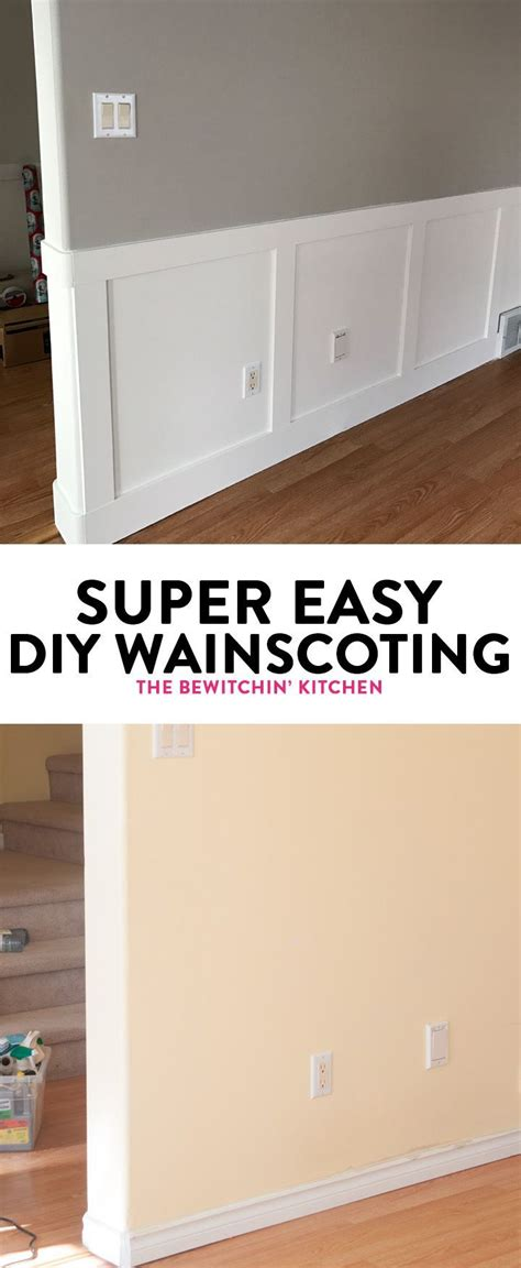 Easy Wainscoting by Best 25 Wainscoting Ideas Ideas On