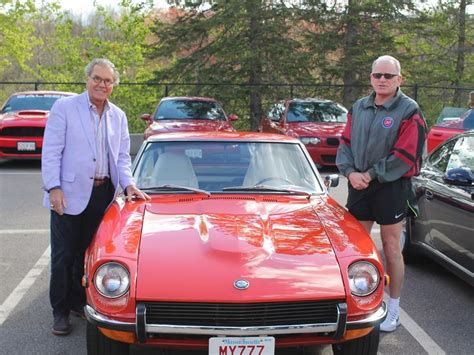 herb chambers hosts first cars and coffee of the season sudbury resident attends herb chambers cars coffee