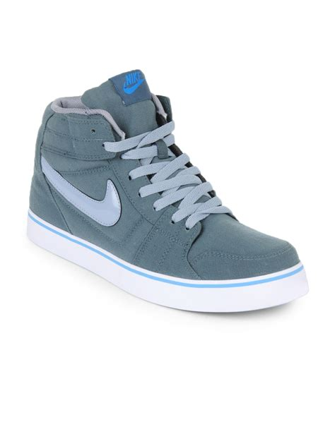 buy nike grey liteforce mid casual shoes 632