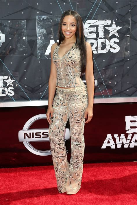 Kode 43577 Aslley Dress tinashe all the looks from the 2015 bet awards livingly