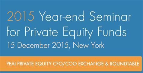 2015 year end seminar for equity funds how to