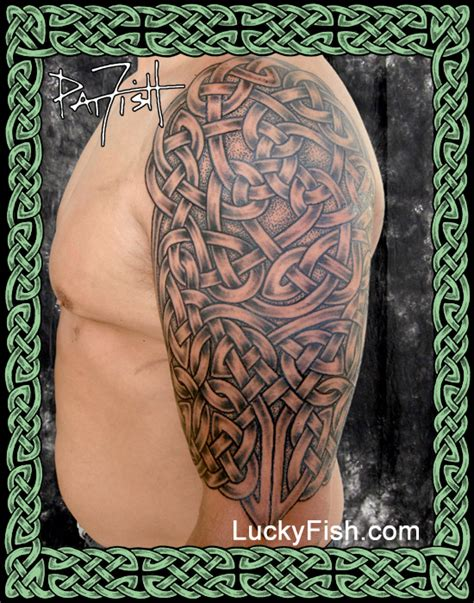 celtic forearm tattoo celtic portfolio luckyfish inc and santa