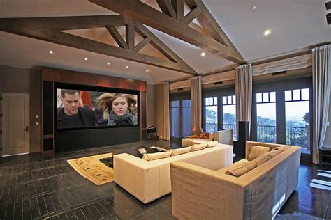 Square Floor Plans For Homes Home Cinema Beautiful Mediterranean Home Beverly Hills