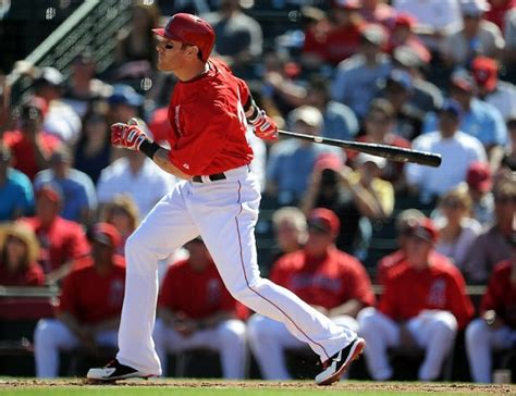 josh hamilton swing major league baseball los angeles angels vs houston astros