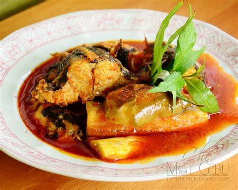 ikan asam pedas asam pedas ikan sembilang malaysian food pinterest