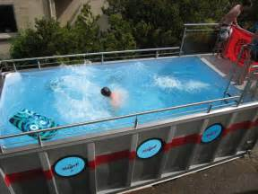 shipping container swimming pools premier box