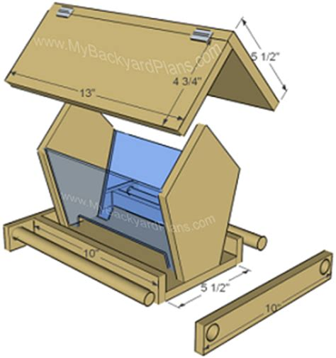 how to build a bird feeder instructions and pictures part 2