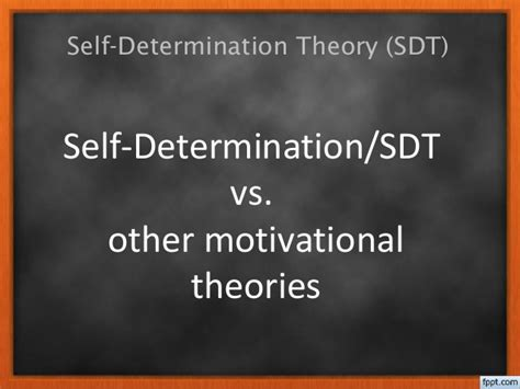 Shelf Determination by Self Determination Theory