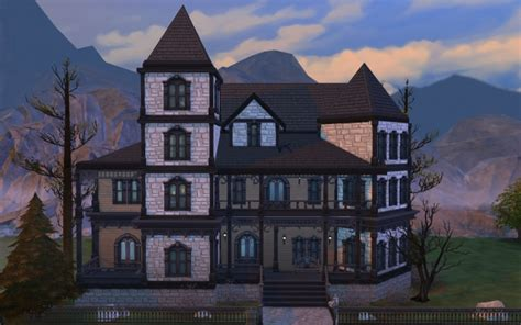 how to convert home into victorian gothic home interior gothic victorian house by polarbearsims at mod the sims